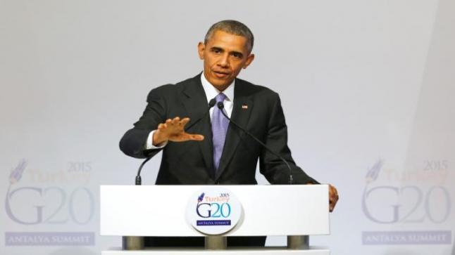أوباما يؤكد على أن القوات الأمريكية في عهده لن تتدخل برياً في سوريا والعراق