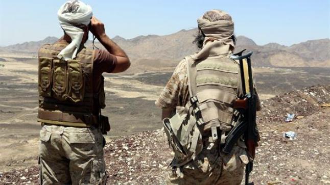 قوة مكافحة الإرهاب من التحالف تصل إلى مدينة عدن