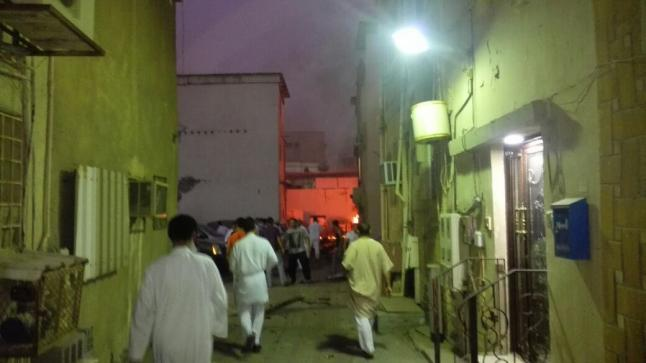 تفجير القطيف الان ، إرهابي يفجر نفسة في القطيف اليوم الإثنين 29-9-1437 هـ