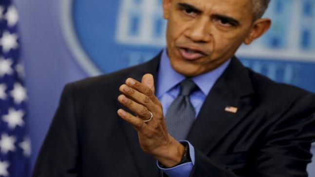 أوباما يوبخ مرشحي الرئاسة الجمهوريين لعدم تقديم بدائل لانتقاداتهم لإدارته حول الحرب على داعش