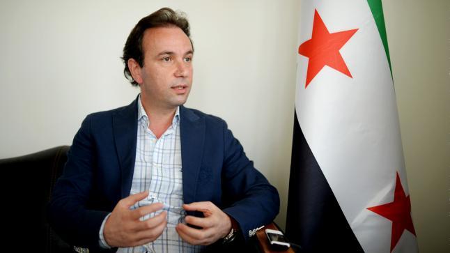 """خالد خوجة يصف التدخل الروسي في سوريا بـ""""الإحتلال"""""""