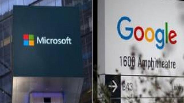 مايكروسوفت وجوجل يتفقان على التخلي عن القضايا المتبادله بينهما