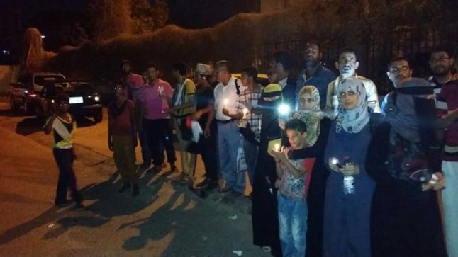 الكهرباء تعود لأحياء عدن بعد انقطاع 18 ساعة
