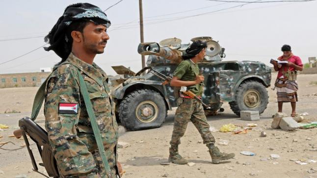 الجيش اليمني يحرر 10 مواقع جديدة بمحافظة تعز