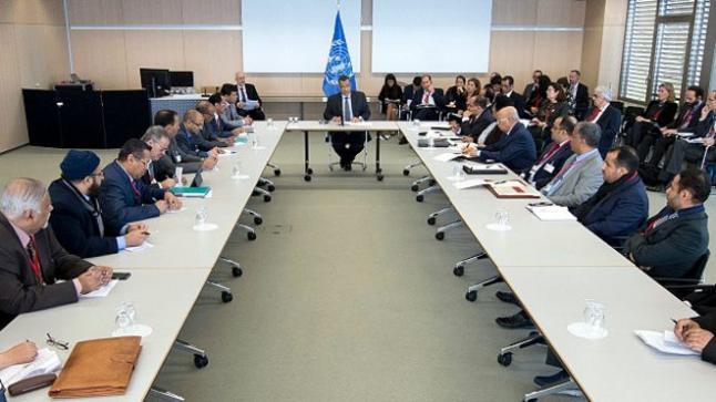 استكمال مشاركة المفاوضون اليمنيون في محادثات السلام التي ترعاها الأمم المتحدة