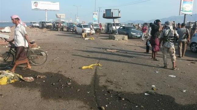 تفجير انتحاري في مدينة عدن يسفر عن مقتل اثنين من المقاومة الجنوبية وجرح آخران