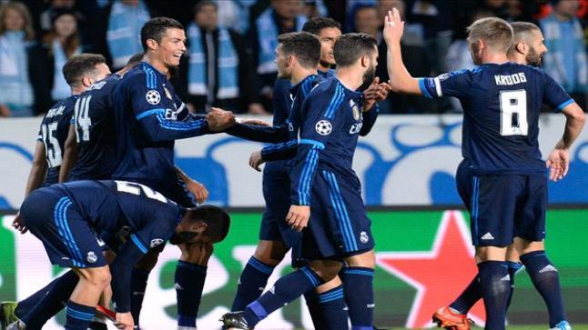 كريستيانو رونالدو يقود ريال مدريد للفوز على مالمو