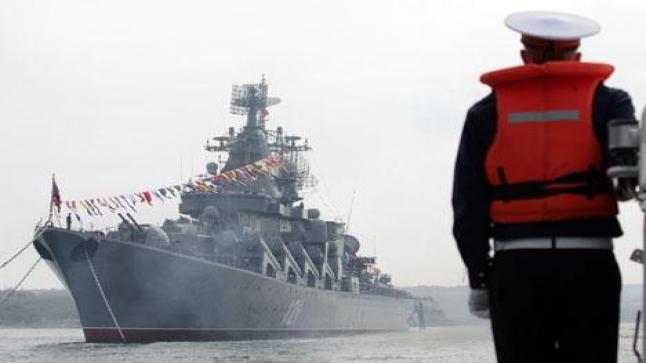 تركيا توقف السفن الروسية ولا تسمح لها بالعبور عبر مضيق البوسفور
