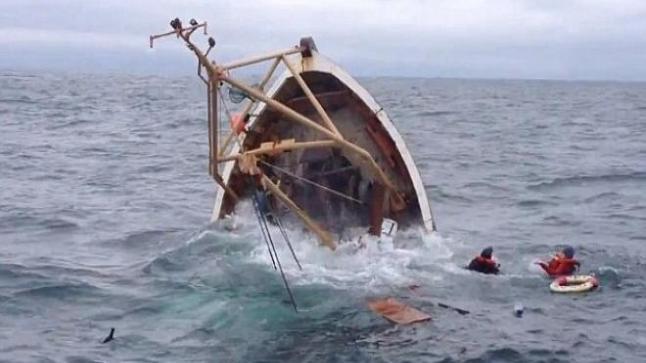 غرق ثمانية عشر مهاجرا على قارب خشبي قبالة الساحل الجنوبي الغربي لتركيا