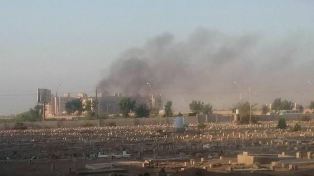 إستهداف مقر إقامة الحكومة اليمنية في عدن