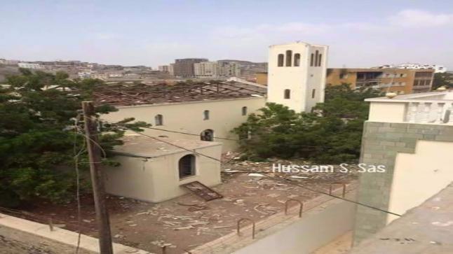 مجهولون يفجرون كنيسة كاثوليكية في عدن