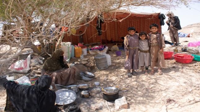 الهجرة الدولية: نزوح 283 أسرة يمنية في أسبوع واحد