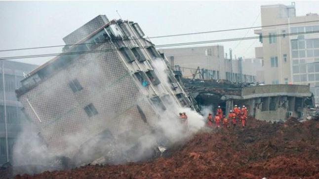 91 شخصا في عداد المفقودين بسبب أحدث كارثة صناعية في الصين