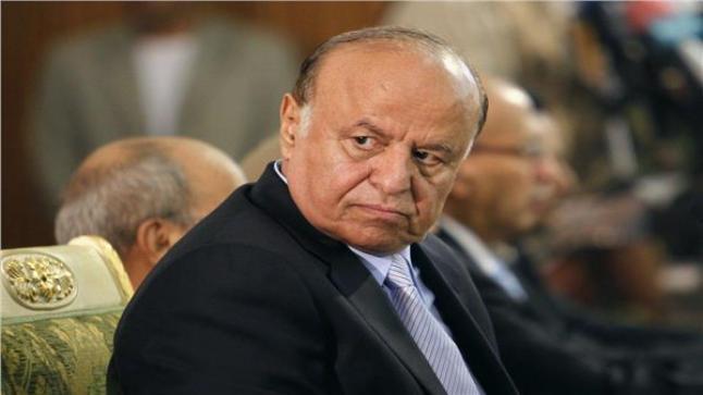 الرئيس اليمني يتعهد بالقضاء على المشروع الإيراني