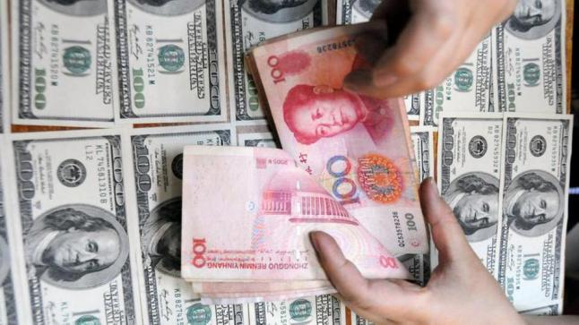 اليوان الصيني يصل إلى أدنى مستوياته أمام الدولار الأمريكي منذ 11 عاما