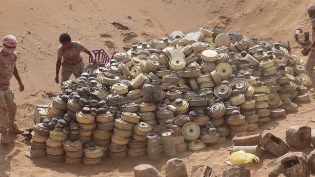 العقيلي: 8 آلاف شخص ضحايا الألغام في اليمن
