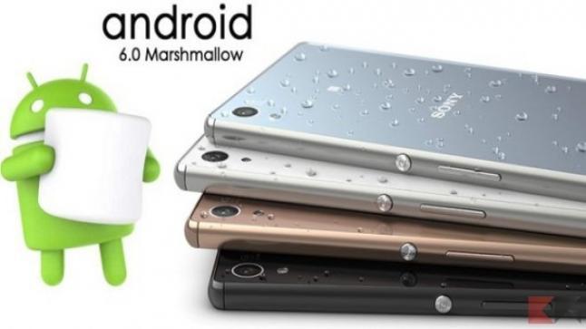 قائمة هواتف سوني القابلة للتحديث لنظام اندرويد 6.0