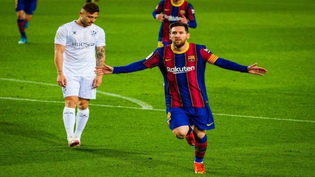 مباراة تاريخية لميسي.. الأرجنتيني يقود برشلونة لوصافة الليجا ويُعادل رقم تشافي