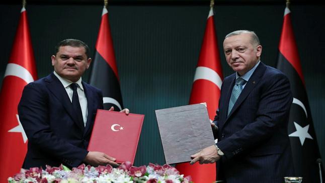 ليبيا توقع 5 اتفاقيات مع تركيا في مختلف المجالات