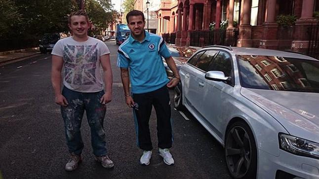 منع سيسك فابريجاس من قيادة السيارة لمدة 6 أشهر بسبب السرعة