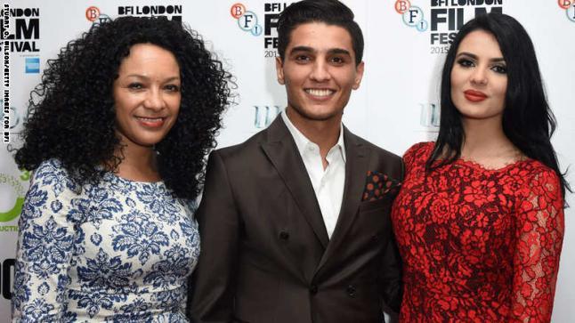 محمد عساف يظهر مع خطيبته في مهرجان لندن السينمائي