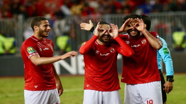 الأهلي يسحق الساورة الجزائري بثلاثية نظيفة ويتأهل لدور ال8 بالبطولة الإفريقية