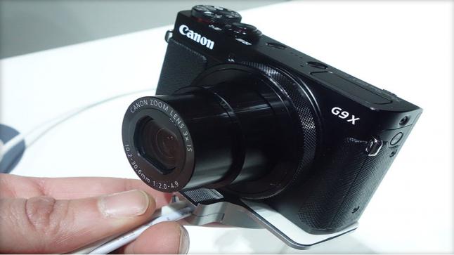 شركة كانون تنافس سوني بالكاميرا الجديدة G9 X