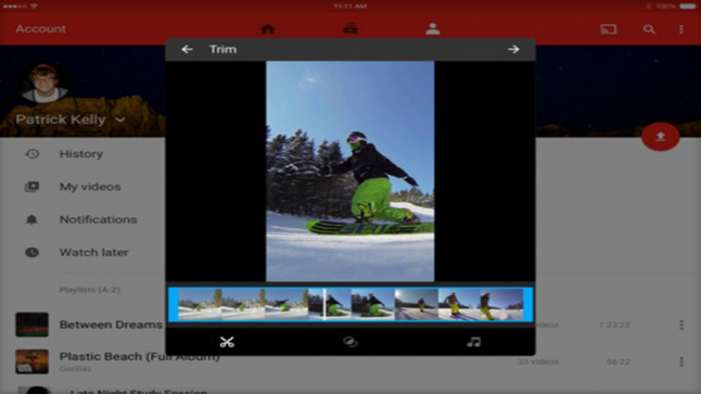 تحديث لتطبيق يوتيوب على أجهزة آبل