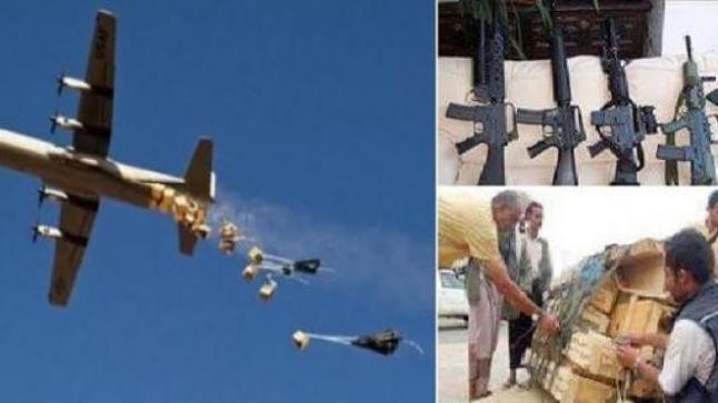 التحالف يدعم المقاومة الشعبية في تعز بدفعة أسلحة جديدة