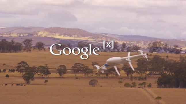 جوجل تختبر طائرات بدون طيار في أمريكا