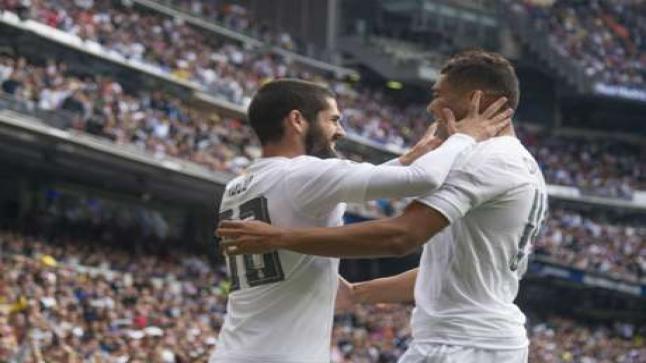 اهداف مباراة ريال مدريد 3-1 لاس بالماس   تعليق خالد الحدي