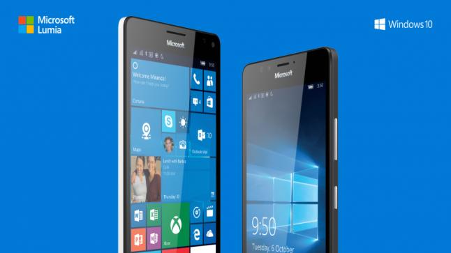 مايكروسوفت تكشف عن هاتفي لوميا 950 ولوميا 950 إكس ال