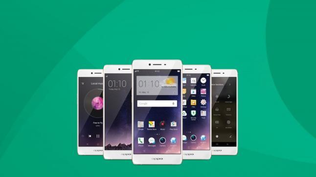 أوبو تعلن عن هاتفها الذكي OPPO R7s في معرض جيتكس دبي 2015