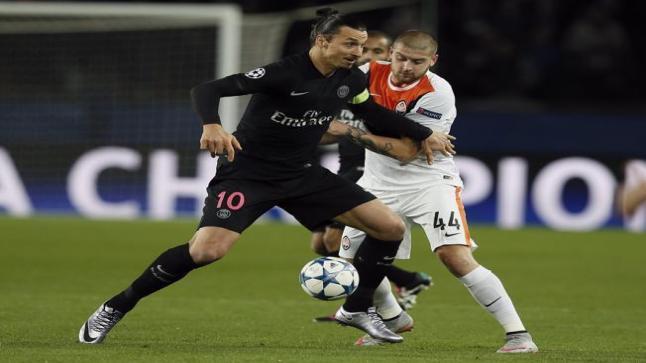 اهداف مباراة باريس سان جيرمان 2-0 شاختار دونيتسك | دوري أبطال أوروبا 12/8/2015