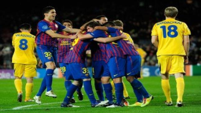 برشلونة يرحل لمواجهة باتي بوريسوف محملا بذكريات جميلة