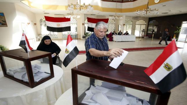 بدء المرحلة الأولى من الإنتخابات البرلمانية المصرية وسط إقبال ضعيف